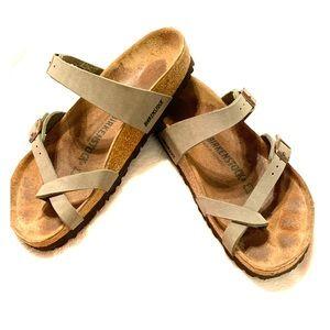 Birkenstock Mayari Stone Sandals